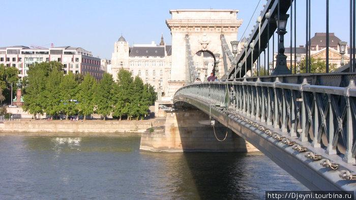 Дунай, и мост через него