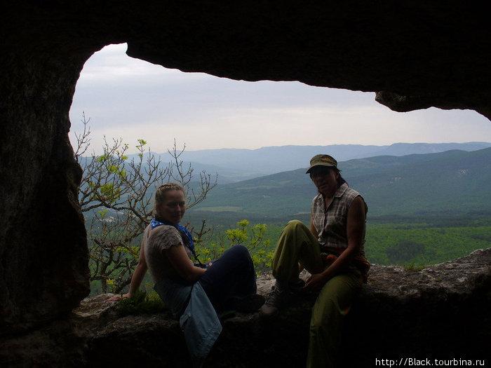 «панорамное окно жилища богатого мангупкалинца»