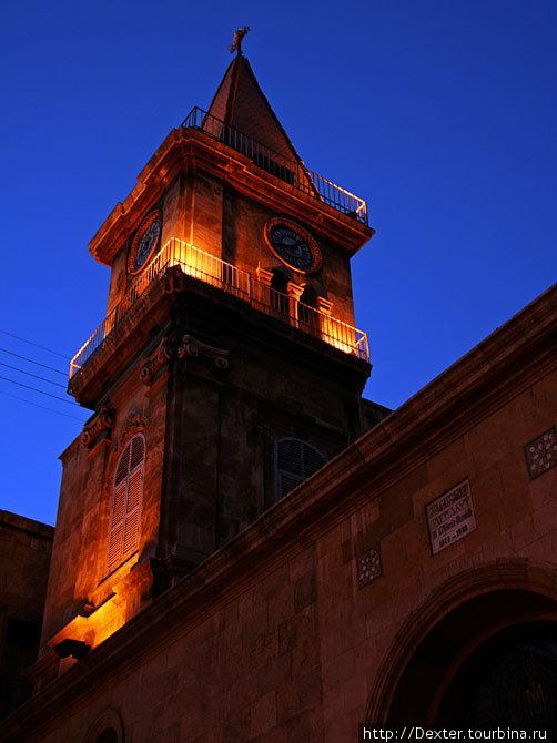 Христианская церковь в мусульманском квартале Алеппо