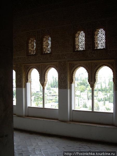 Вид на Гранаду. Альгамбра. Фото не мое.