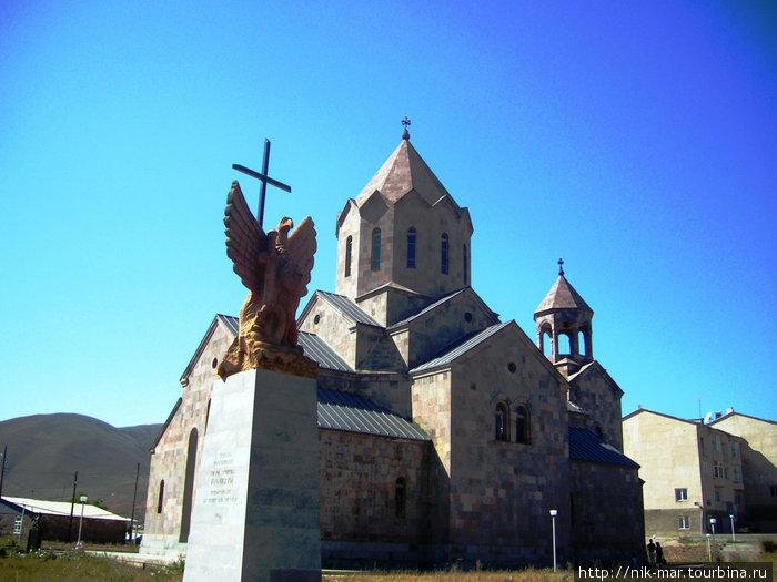 Армения. Храм Воскресения в Спитаке.