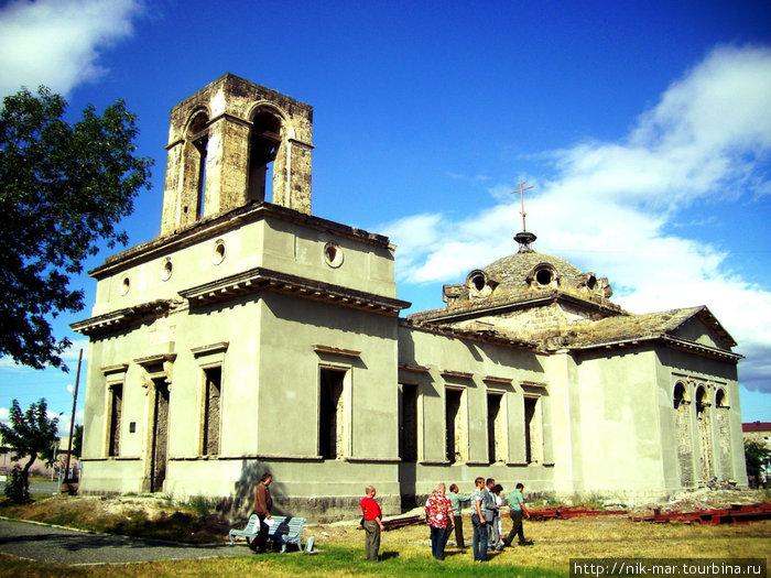 Храм царицы Александры в Гюмри, место подвига о.Матфея Миронова