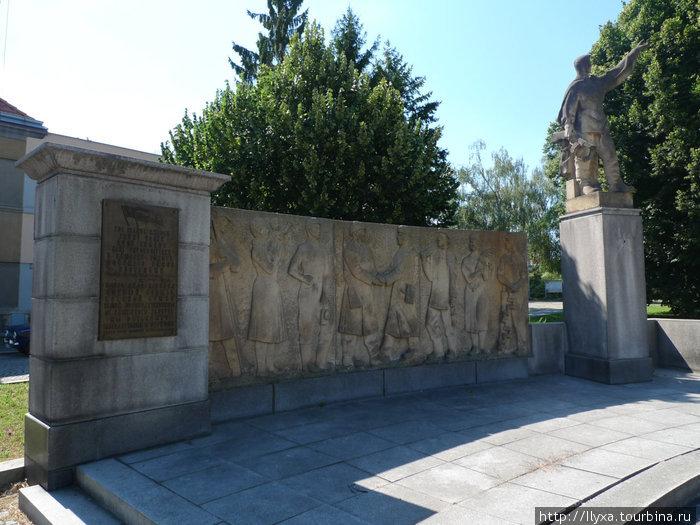 Памятный знак в память Русским солдатам г Кутная гора.
