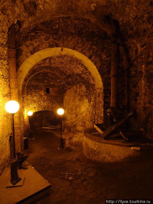 Чешский Крумлов Подземелья замка