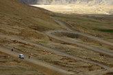 Дорога на перевал, с которого Гималаи будут видны