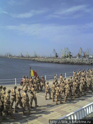 солдаты в Констанции