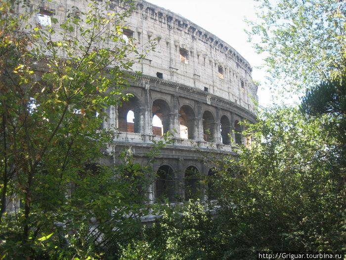 Это Колизей, разумеется. Разумеется, Рим!