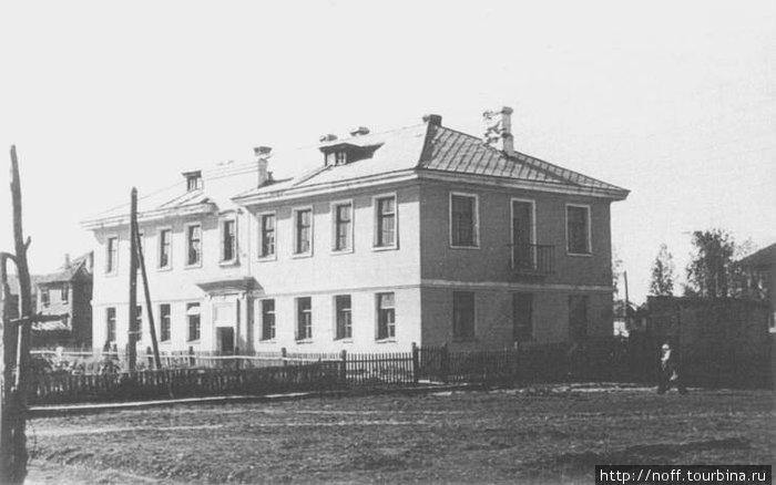 Типовое здание построенное военнопленными.