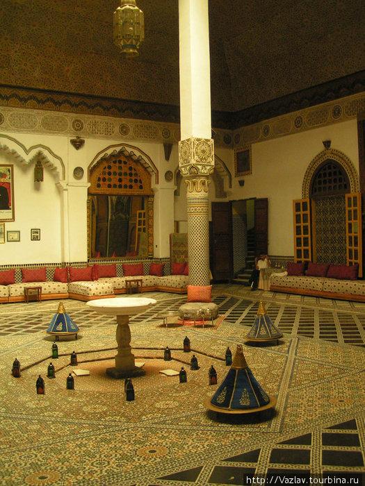 Одно из помещений дворца