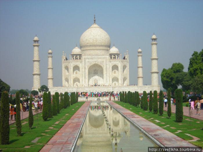 Величественный Тадж Махал