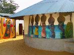 Храм Вуду в Бенине.