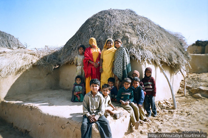 Жители пустыни Тар