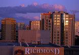 Закат над центром города