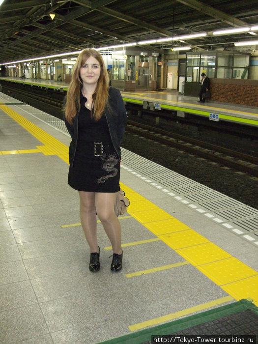 Пример наземного следования поездов метро   Станция Минами-Гётоку, прифектура Тиба