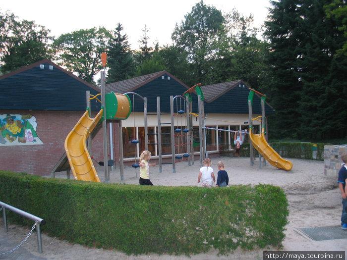 а это детская площадка