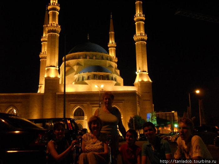 Нагулявшись по набережной, мы едем в Даун-Таун, один из красивейших районов Бейрута.