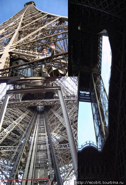 Памятник мужественным французским нефтяникам.