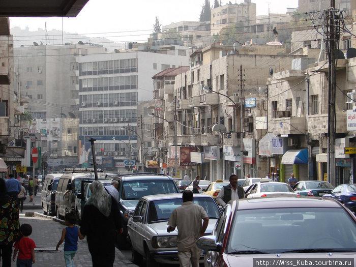На улицах Аммана