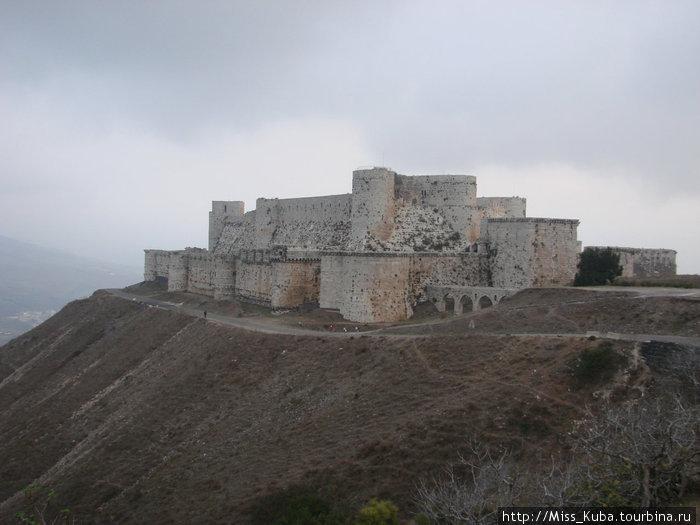 Неприступный Крак де Шевалье (Сирия)