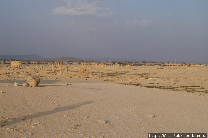 Когда-то великолепная Пальмира