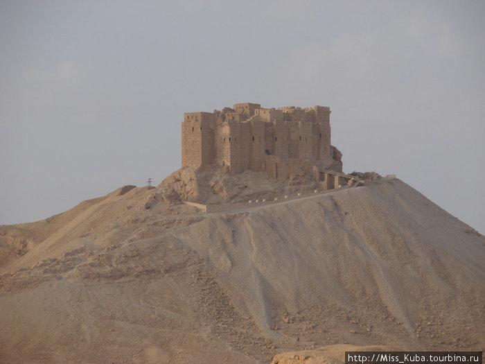 Арабская крепость Калаат аль-Маани в Пальмире