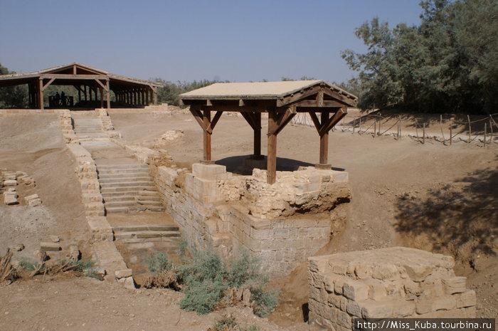 Бетани. Место крещения Иисуса Христа