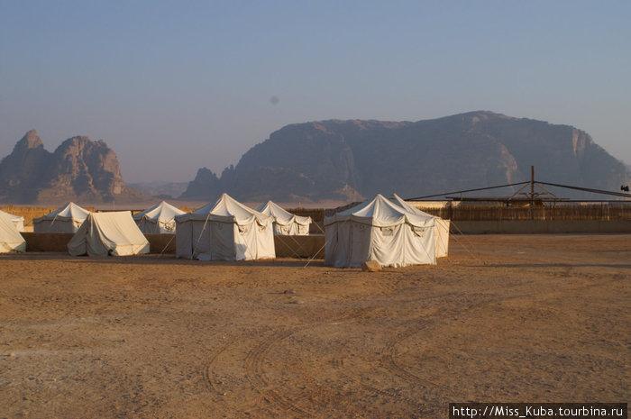 Пятизвездочный палаточный лагерь Вади Рам