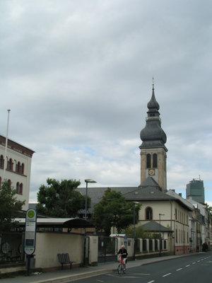 Квартал с церковью