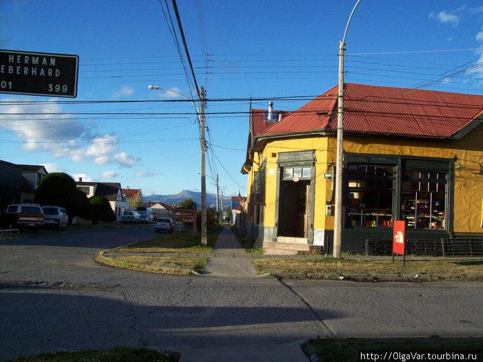 городок Пуэрто Наталес