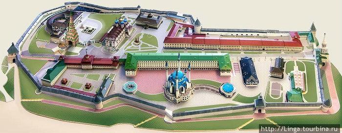 Картинка взята с сайта Казанского Кремля из раздела