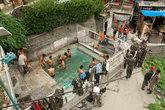 Открытые горячие источники. Место для досуга и купания мужчин.