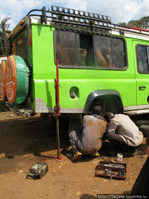 Автосервис в городке Emali