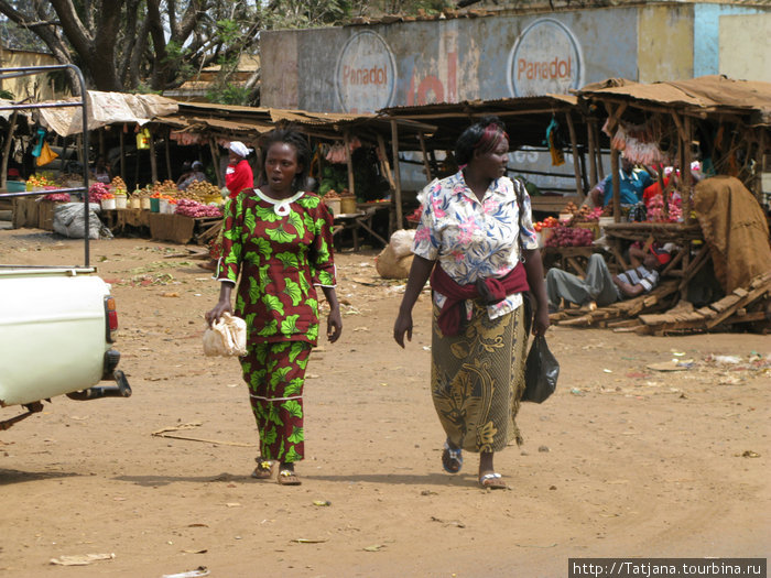 Яркие цвета Африканских нарядов