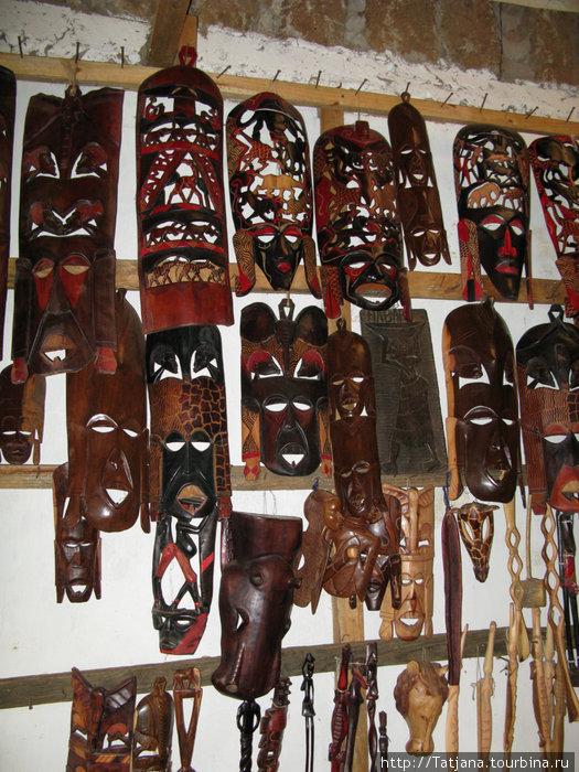 Кенианские маски