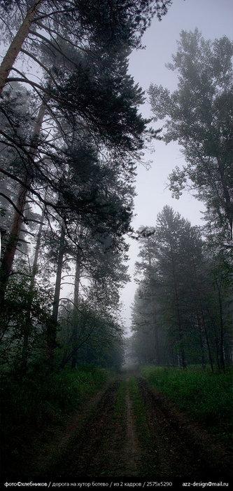 дорога на хутор ботево