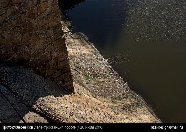 гидроэлектростанция пороги / река большая сатка