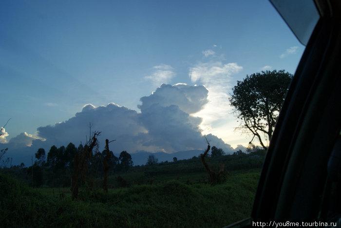 по дороге в Рувензори