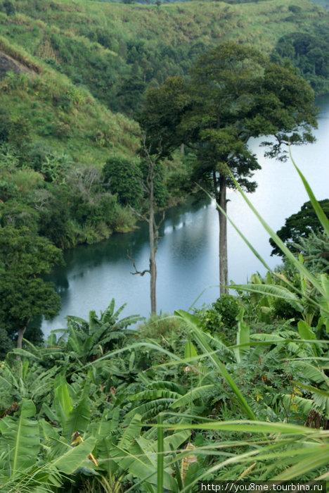 кратерные озера Уганды