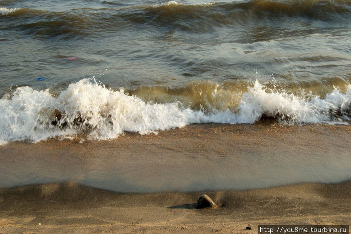 волны на озереТанганьика