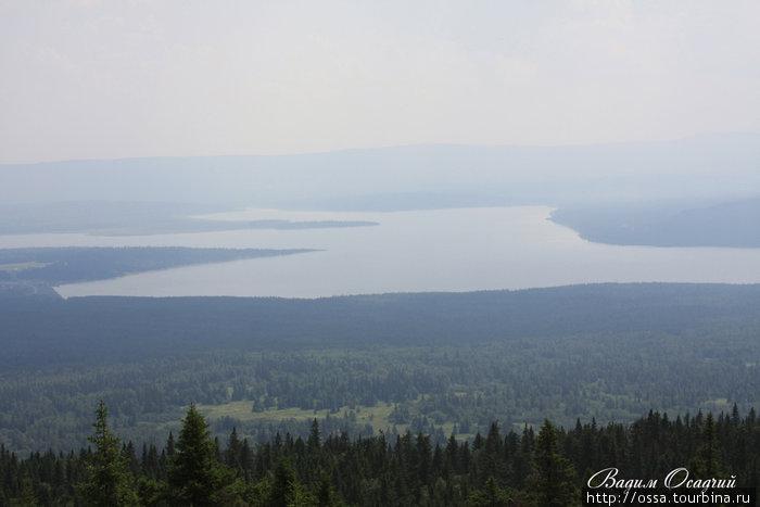 Южный Урал. Озеро Зюраткуль. Фото Вадима Осадчего.