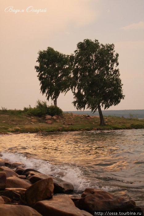 Южный Урал. Озеро Увильды. Фото Вадима Осадчего.