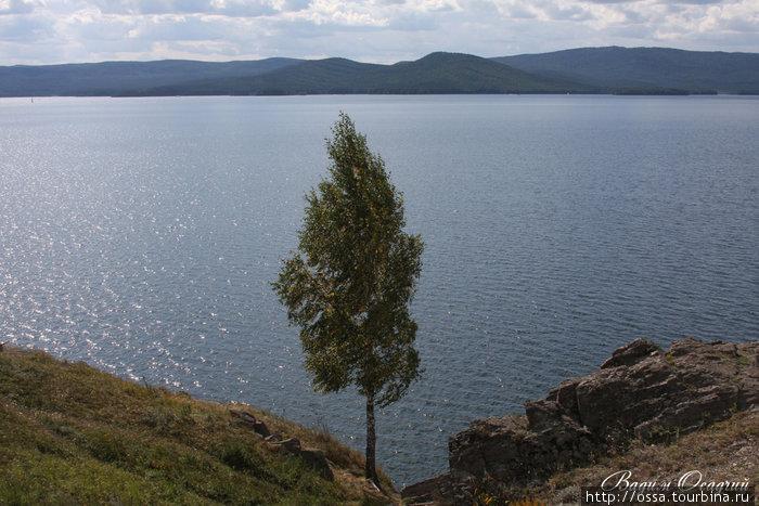 Южный Урал. Озеро Тургояк. Фото Вадима Осадчего.