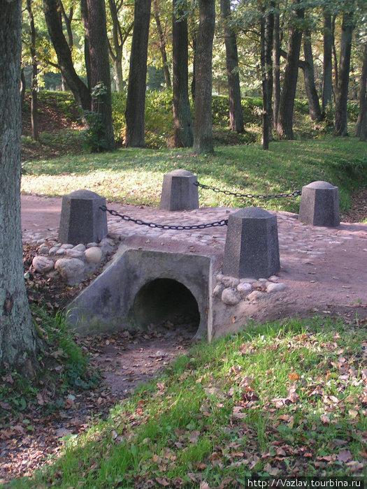 Кусочек парка