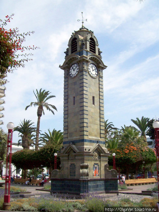 Часовая башня Торре-дель-