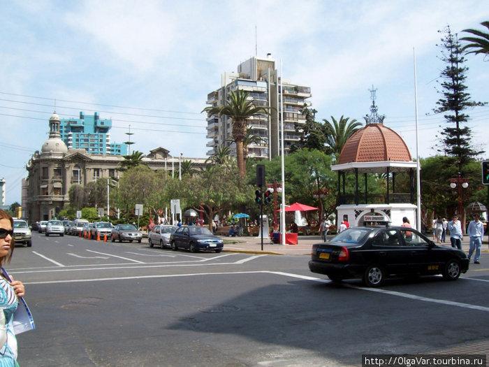 На площади Плаза де Колон