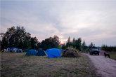 Лагерь пустеет