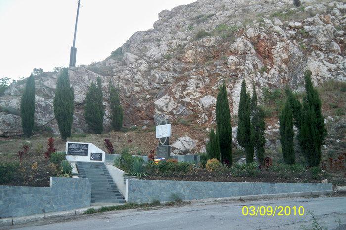 Памятники на улицах Балаклавы