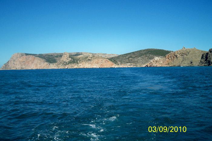 Вход в Балаклавскую бухту со стороны моря