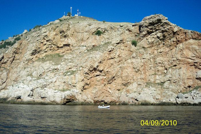 Морская прогулка вдоль берегов Балаклавы к мысу Фиолент