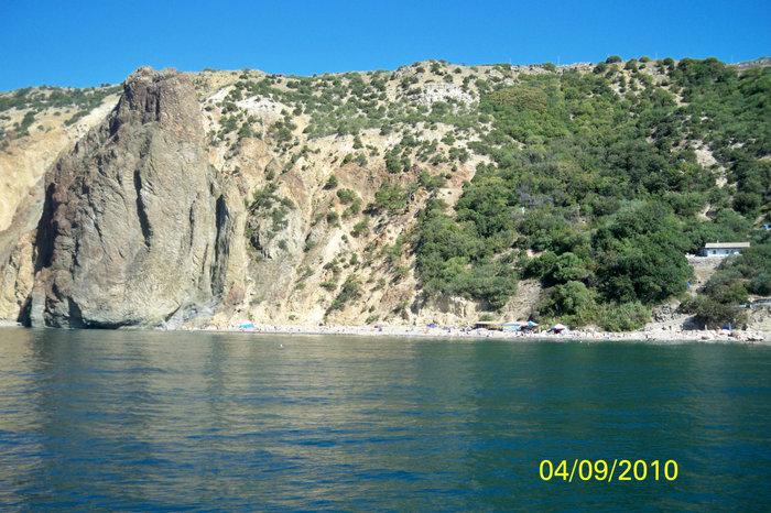 Пляж на Фиоленте